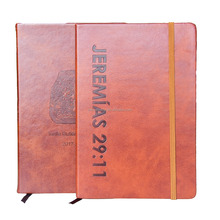 Custom Stationery Professional Office Hard Cover Leather Notebook Diary Planner
