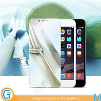 Mirror tempered glass screen protector for iPhone 6