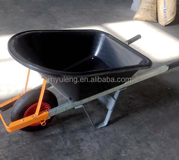 large capacity Aluminum alloy handle plastic tray Power Wheelbarrow wheelbarrows for seal Australia market