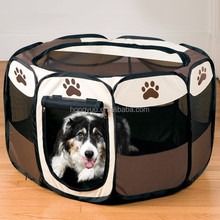 Pet Portable Foldable Play Pen Exercise Kennel Dogs Cats Indoor/outdoor tent for small medium large pets Animal Playpen with Pop