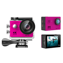 Action camera 100% original h9r / h9 4k wifi action camera waterproof remote ultra hd 4k action sport camera