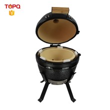 Round Shaped Ceramic Charcoal Pizza Oven