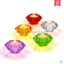Fashion Diamond Candle Holder Crystal Tealight Candle Holder