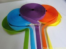 Low profile colored soft hook and loop series