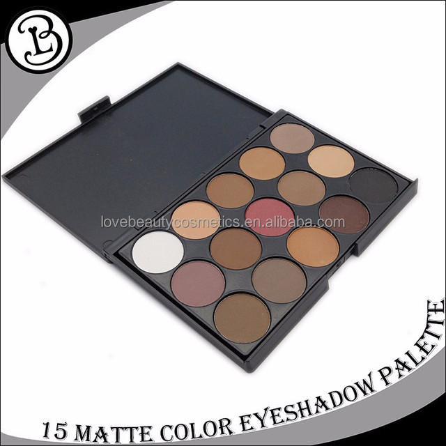 China Manufacturer Cosmetics Cheap !! 15 color eyeshadow