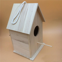 Custom Nest Box Breeding Parrot Munia Cockatiels Bird House Wood Polished natural Wooden bird house,bird nest