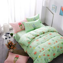 2017 hot sale fabric painting designs bed sheets Factory Price