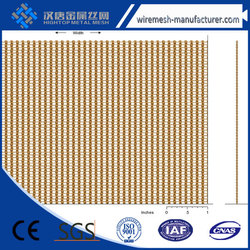 2016 Hot selling cheap solid decorative metal mesh drapery