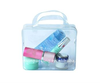 clear pvc cosmetic bag for promotion