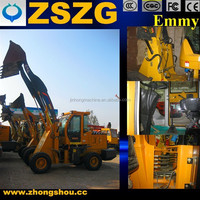 china made new wheel loader high lift 2tons capacity with spare parts for free