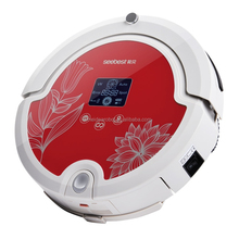 Professional Vacuum Cleaner Robot With Wifi APP Robot And Mopping