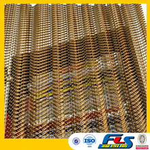 Wire Mesh Coil Drapery For Decoration
