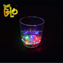 Promotional Flashing Drinking Glass LED Light Up Cup