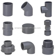 20-800mm grey color PVC pipe fittings