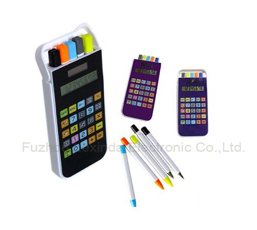 Calculator phone,mobile phone shape calculator with Pen set