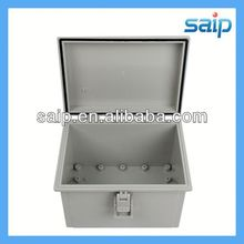 Newest waterproof hinged plastic box clear acrylic box with hinge lid
