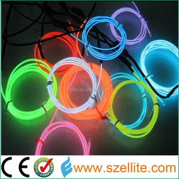 New Year Brand Ploar Wire Neon Light Cable For Car/Bike/Room Decoration