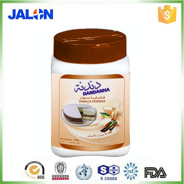 HACCP certificated Vanilla powder for vanilla cake recipe without baking powder
