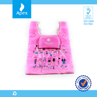 Promotional recycle tote shopping bag