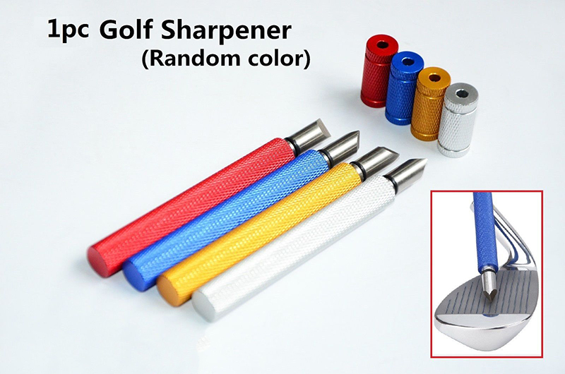 2016 New Arrival Golf Club Groove Sharpener Golf Brush Club Cleaner Tool for All Clubs
