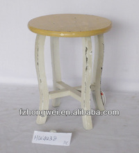 Vintage Chic Stool, Handmade Wooden Stool/Wood Chair with High Quality