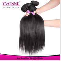 Wholesale straight brazillian hair grade 6a high quality brazilian hair