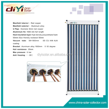 Aluminum alloy solar collector with whole laser welding absorber