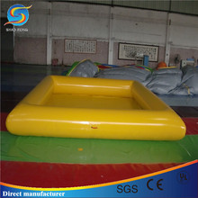 Cheap inflatable pool for children,adult size inflatable pool, inflatable slide with pool