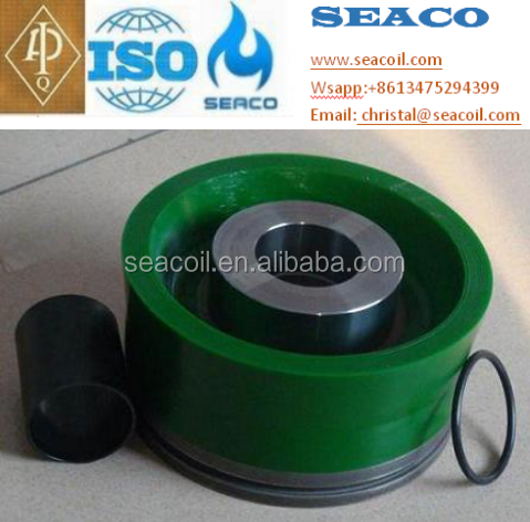 API 7K certified Mud pump rubber piston for drilling rig