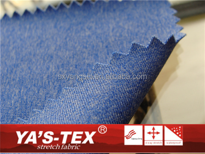 88% Polyester 12% spandex cationic style 4 way stretch fabric used for face fabric for suit