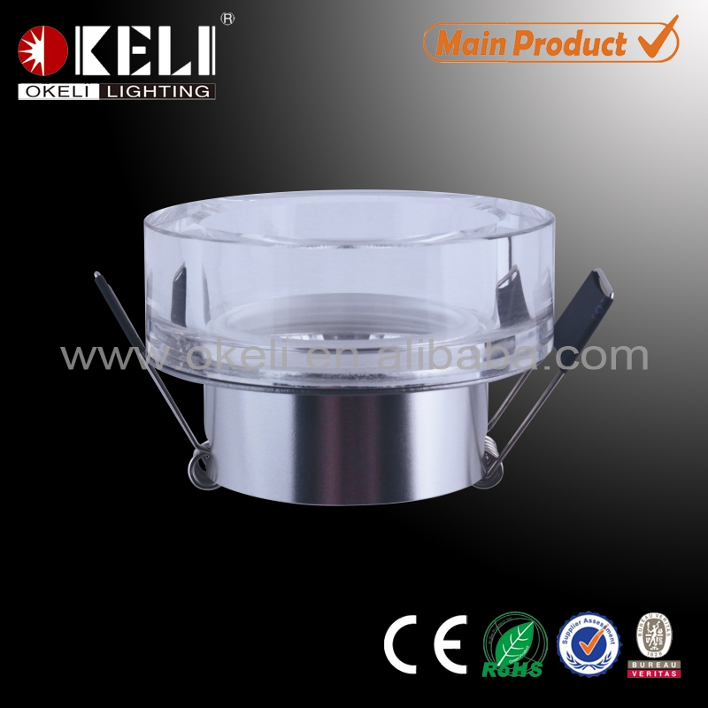 K9 crystal ceiling lighting COB led downlight