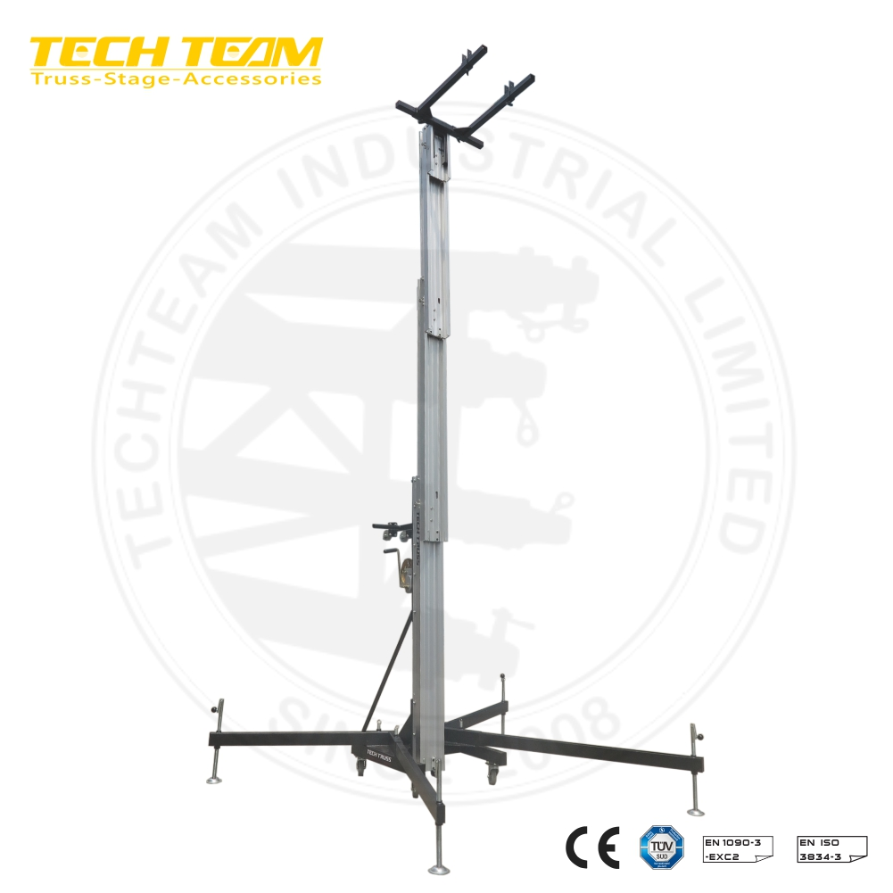 TL-540 Heavy Duty Truss Lifting Tower Truss Tower Designs line array truss tower