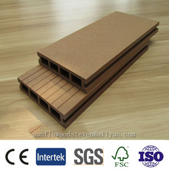 wpc decking board wpc profile production line