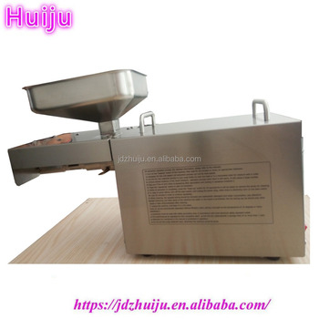 High Oil Yield Hot Press Electric Sesame Seed Small Cold Oil Press Machine HJ-P07