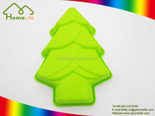 Christmas cupcake bakeware chocolate tree shaped Baking Molds silicone cake mold