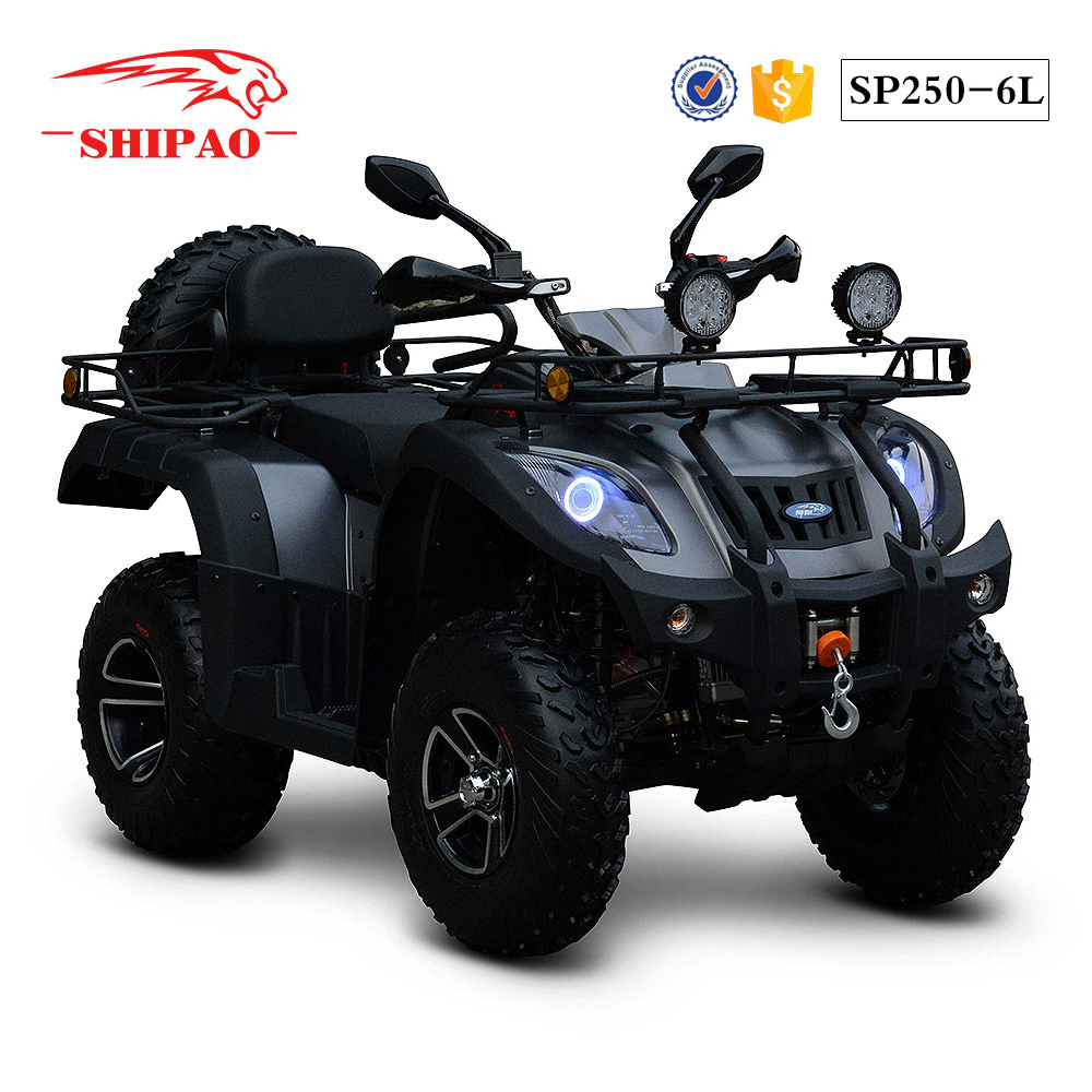 SP250-6L Shipao 250cc water cooled zongshen atv manual