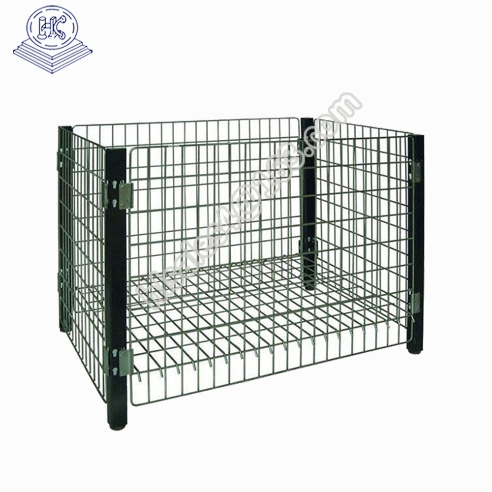 Metal galvanized promotion cage