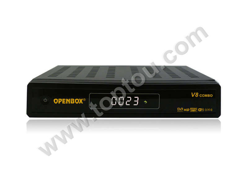 openbox v8 in best price with good quality in twin tuner dvb-s2/s dvb-t/t2 support youtub / yourporn hd satellite receiver iptv