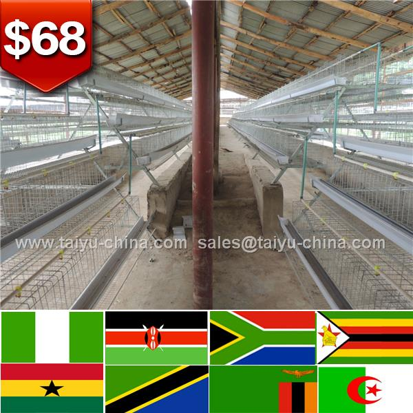 African top selling chicken poultry farm equipment best selling egg laying chicken cage