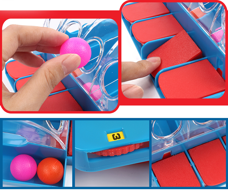 Wholesale high quality funny table game shooting machine mini bouncing ball for children
