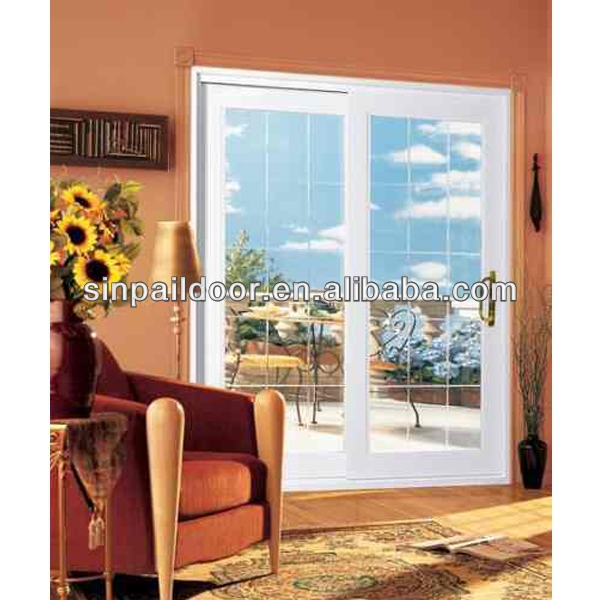 Good Quality But Inexpensive Price PVC Large Sliding Glass Doors