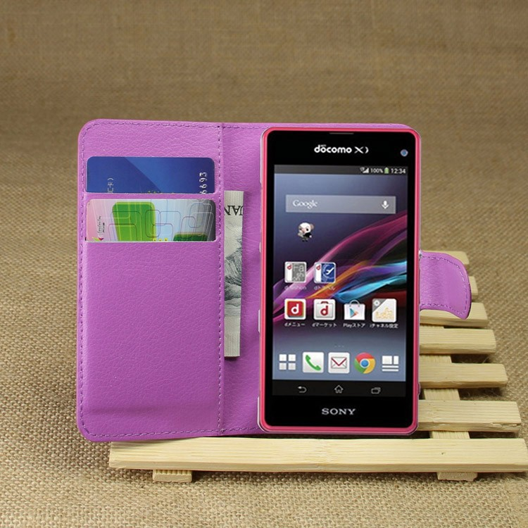 for Sony Xperia Z1 Compact case flip wallet,Hot selling case for Sony Xperia Z1 Compact