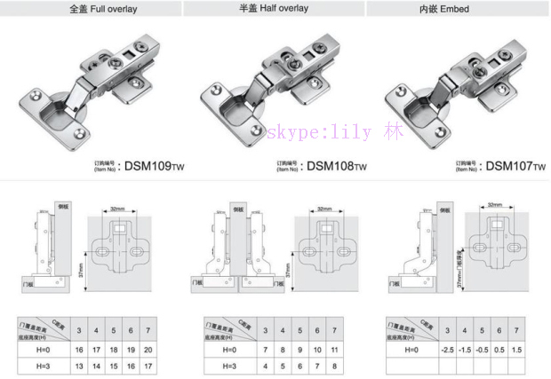 furniture conceal hinge soft close fold down hinge for cabinet doors