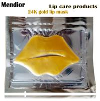 Mendior OEM best lip care products 24K gold Crystal Collagen Lip Mask for Moisturizing&Nourishing