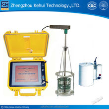 Detector and analyzer for PAG quenching liquid or oil testing