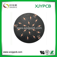 Cheap cost Customized solar garden light pcb aluminum led circuit board / Aluminum PCB