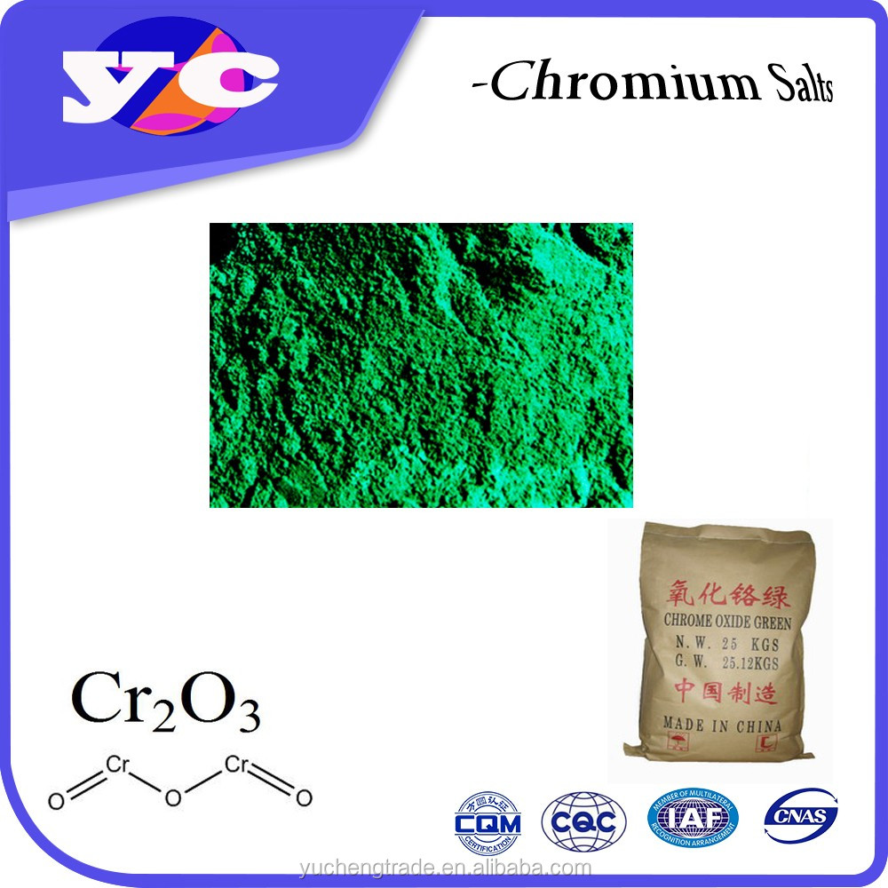 High Pure cosmetic chrome oxide green 99% 99.3%