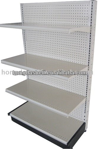 USA supermarket stand display shelf