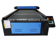 NC-1325 wool felt cloth textile fabric laser cutting machine