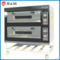 2 deck commercial bakery oven machine pizza/bread deck oven